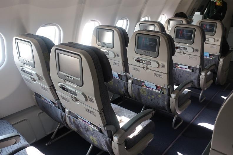 エバー航空搭乗記 機内wifi