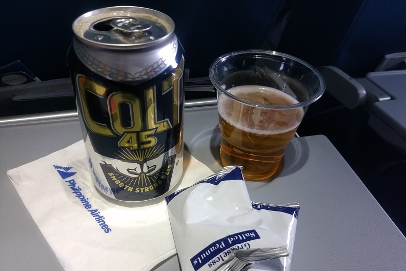 フィリピン航空:成田ーセブ搭乗
